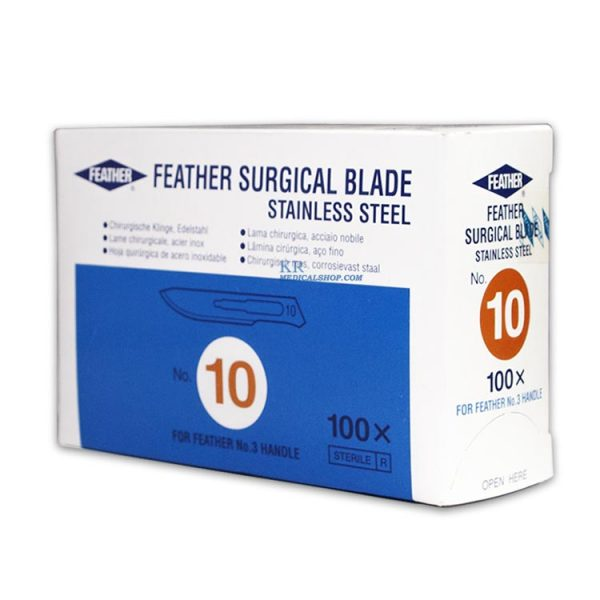 feather surgical blade, มีดผ่าตัด