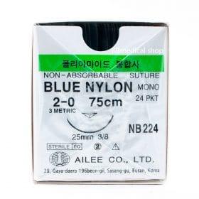 Blue Nylon NON-ABSORBABLE SUTURE