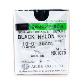 Black Nylon NON-ABSORBABLE SUTURE