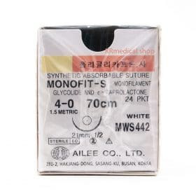 MONOFIT-S SYNTHETIC ABSORBABLE SUTURE MONOFILAMENT