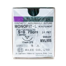 MONOFIT-L SYNTHETIC ABSORBABLE MONOFILAMENT Polydioxanone sutures
